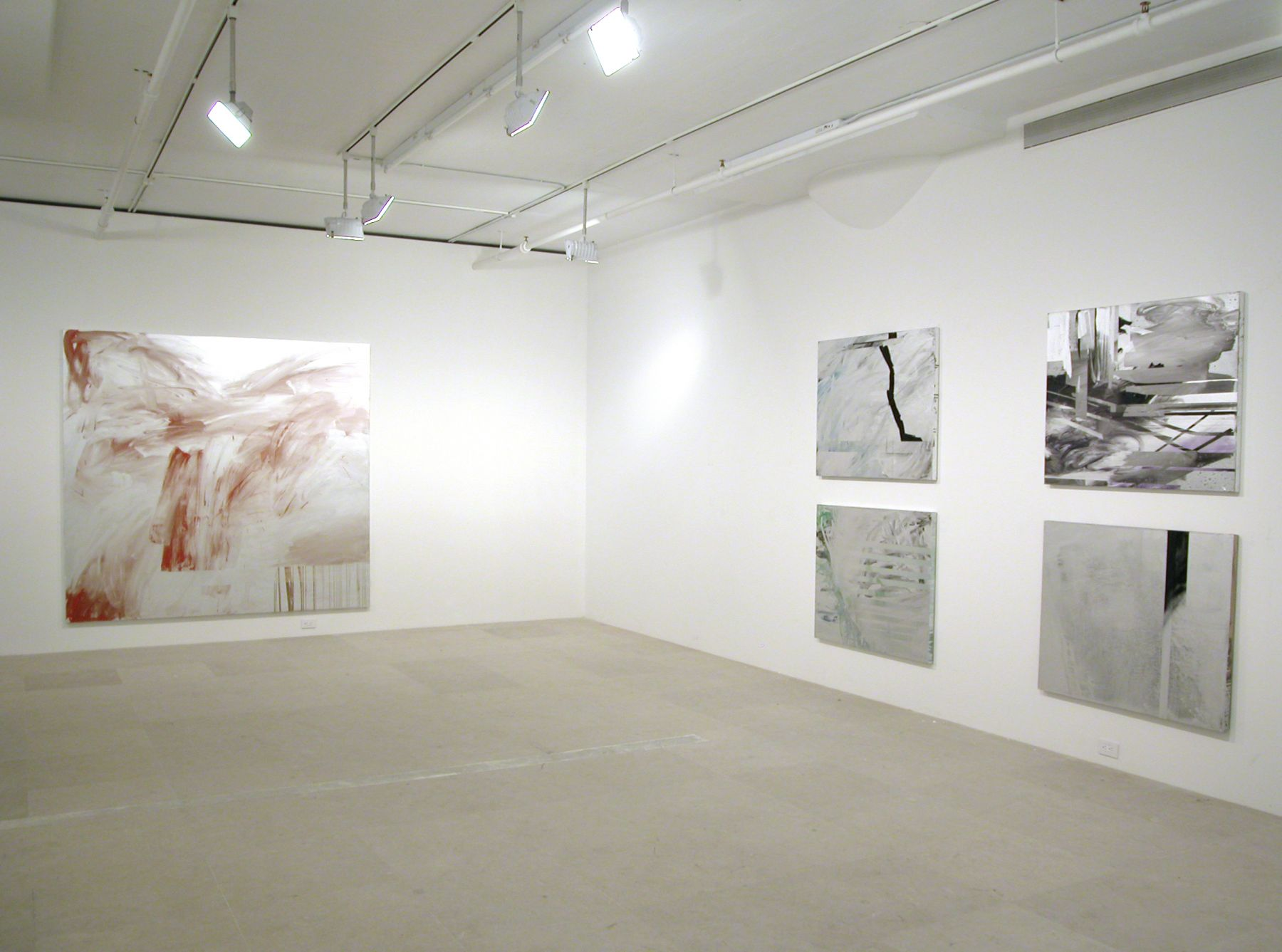 Installation view, Past Out, Greene Naftali, New York, 2006