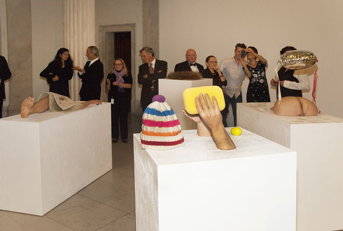 Gelitin, Performance view, Decade: Contemporary Collecting 2002-2012, Albright-Knox Gallery, Buffalo, 2012
