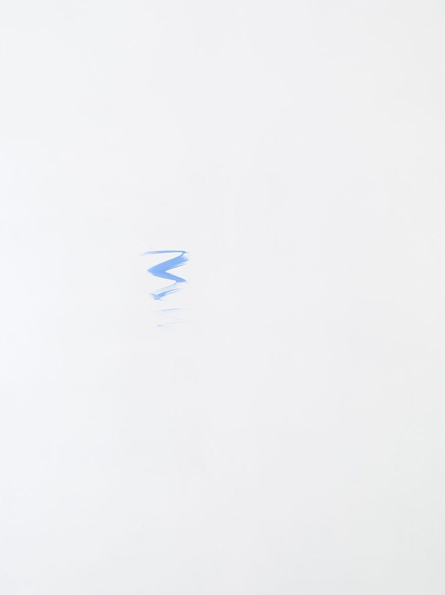 Michael Krebber MK.297, 2015 Acrylic on canvas 78 3/4 x 59 1/8 inches (200 x 150.2 cm)