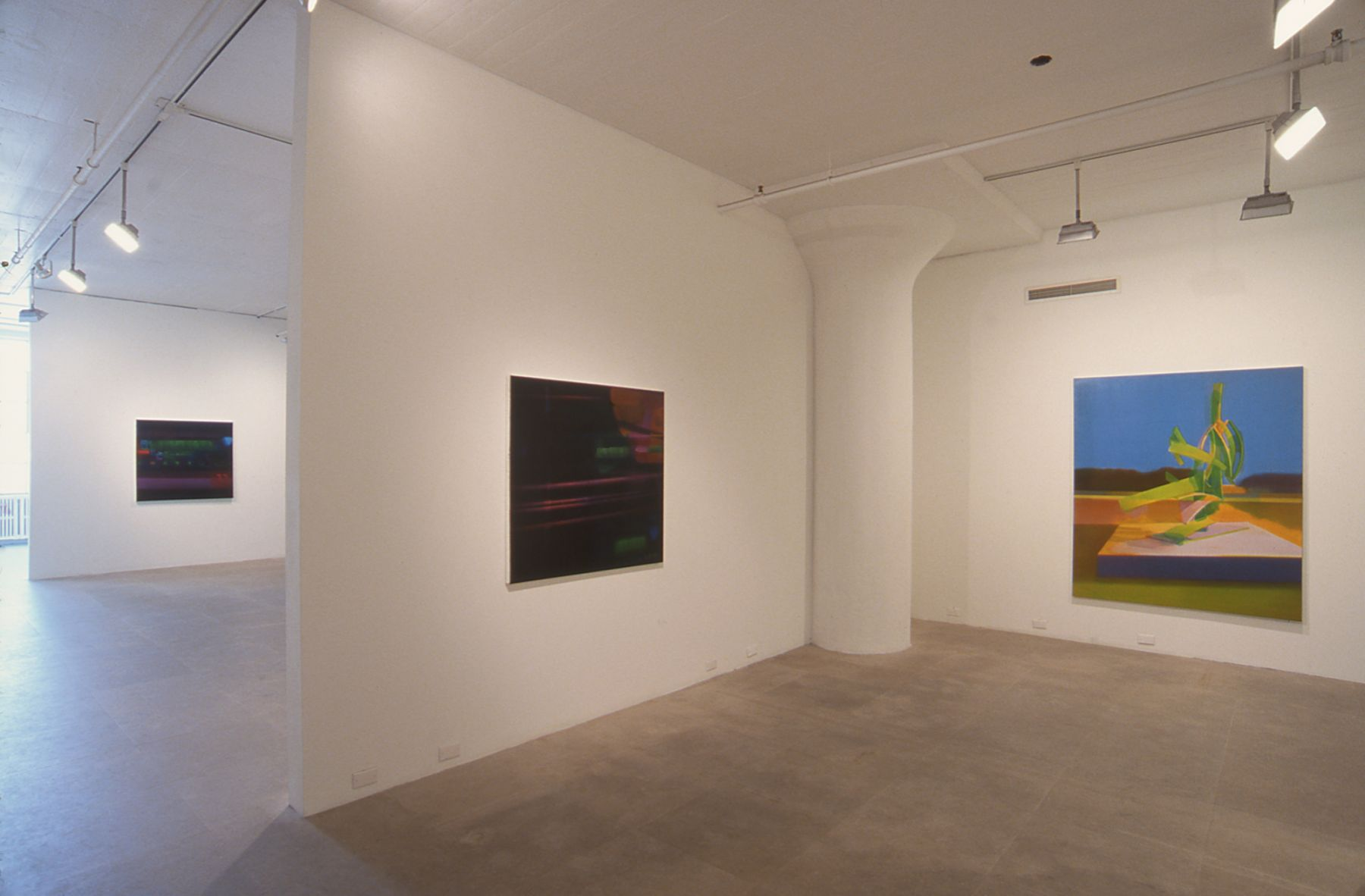 Installation view, August Evening Walk Out, Greene Naftali, New York, 2003