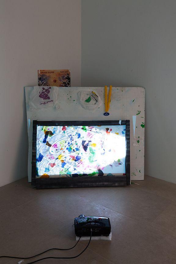 Trisha Baga Installation View Freak Out Greene Naftali New York 2013