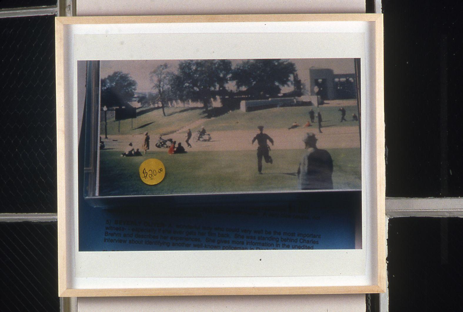 $20, 1996 Chromogenic print, 15 1/2 x 23 inches