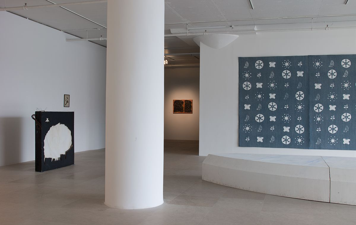 Gedi Sibony, Installation view, Greene Naftali, New York, 2013