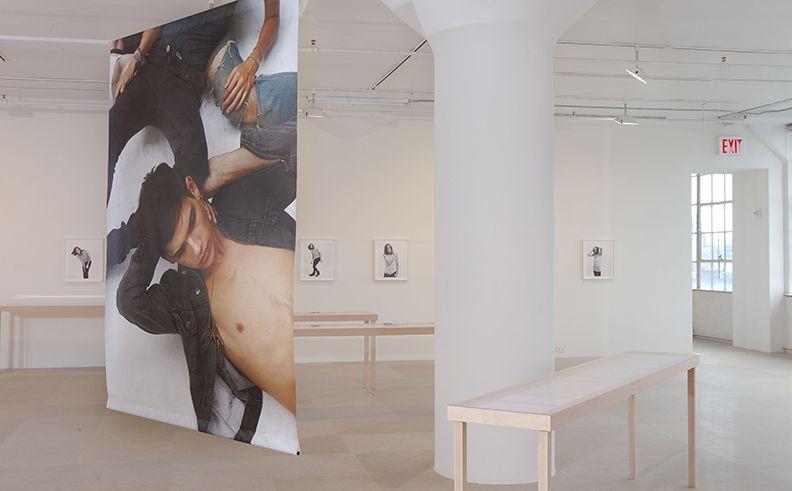 Bernadette Corporation, installation view,The Complete Poem, Greene Naftali, New York, 2009