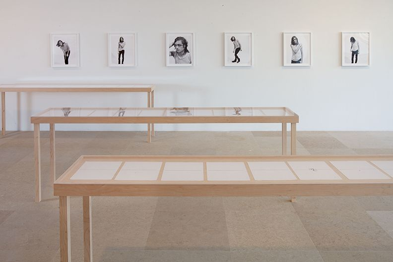 Bernadette Corporation, Installation view, The Complete Poem