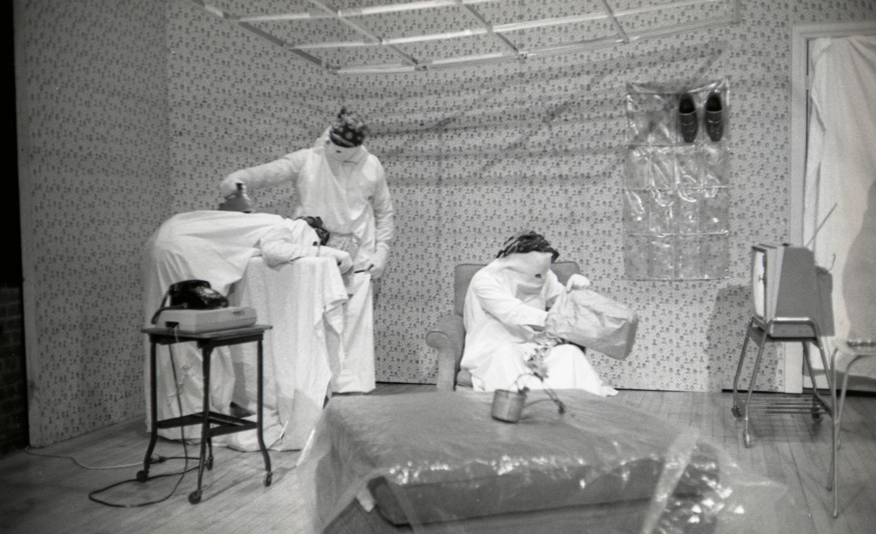 Michael Smith, Secret Horror, 1980  Performance view, Collective for Living Cinema, New York, 1980