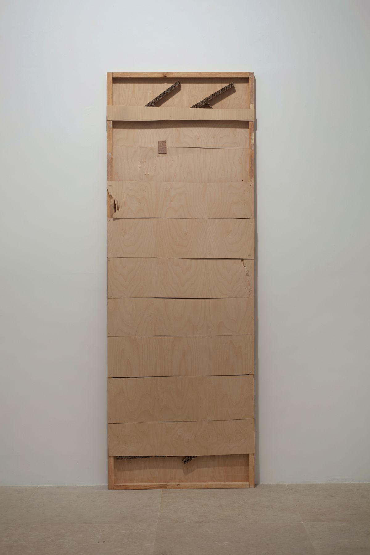 Gedi Sibony, Untitled, 2010, hollow-core door, 80 x 28 x 2 inches