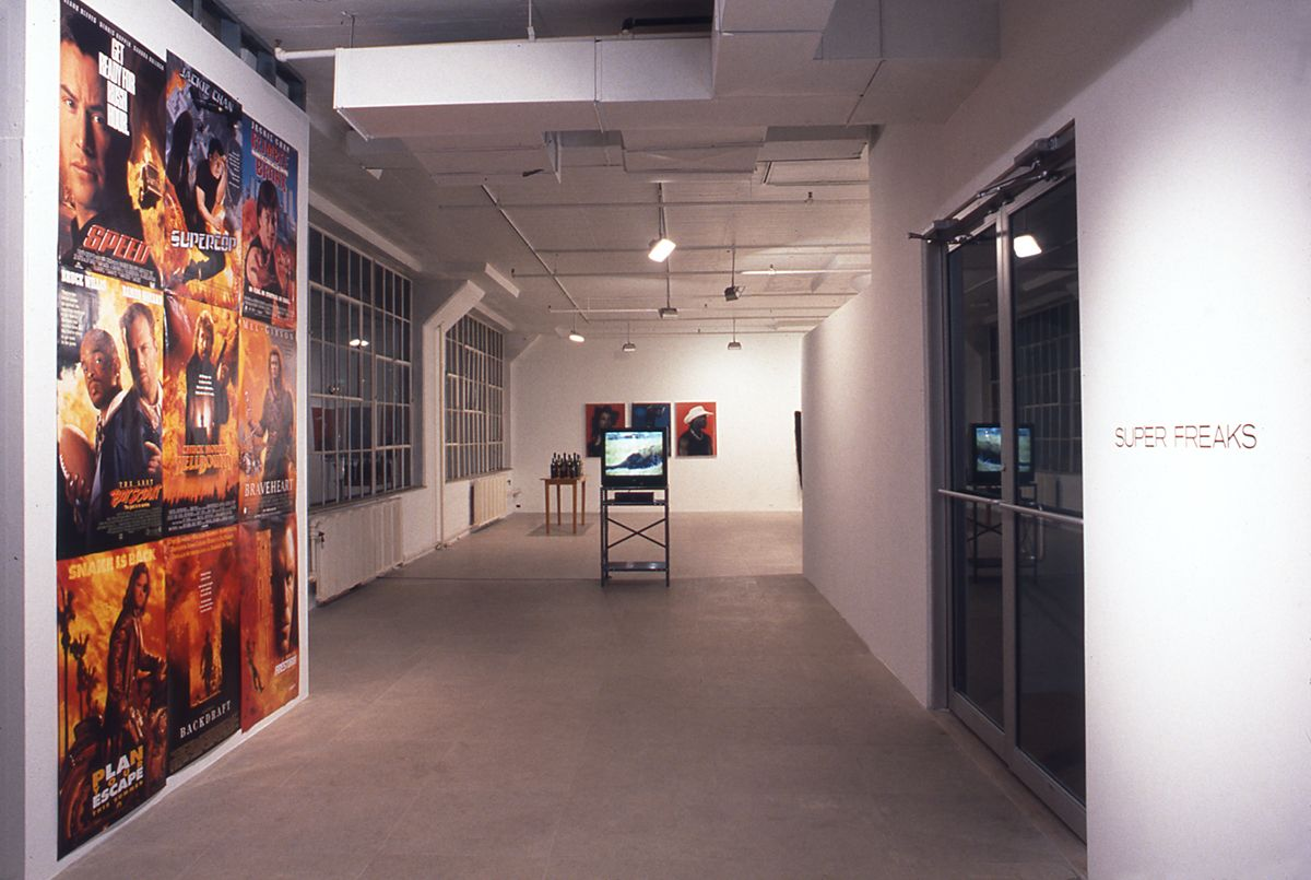Installation view, Super Freaks Part I: Trash​, Greene Naftali, New York, 1998