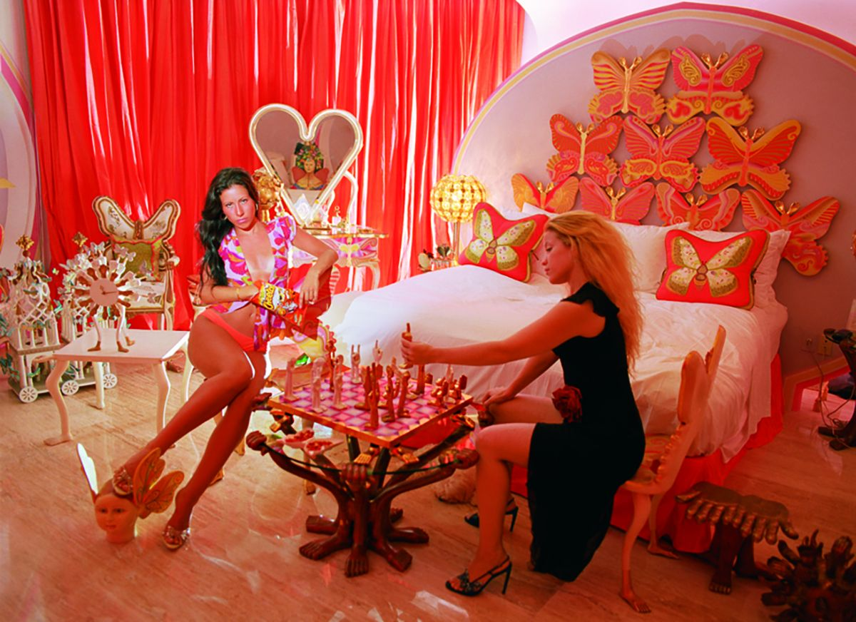Daniela Rossell Untitled (Ricas y Famosas) Nat & Jana Butterfly Room , 1999 C-print 20 x 24 inches (50.8 x 61 cm)