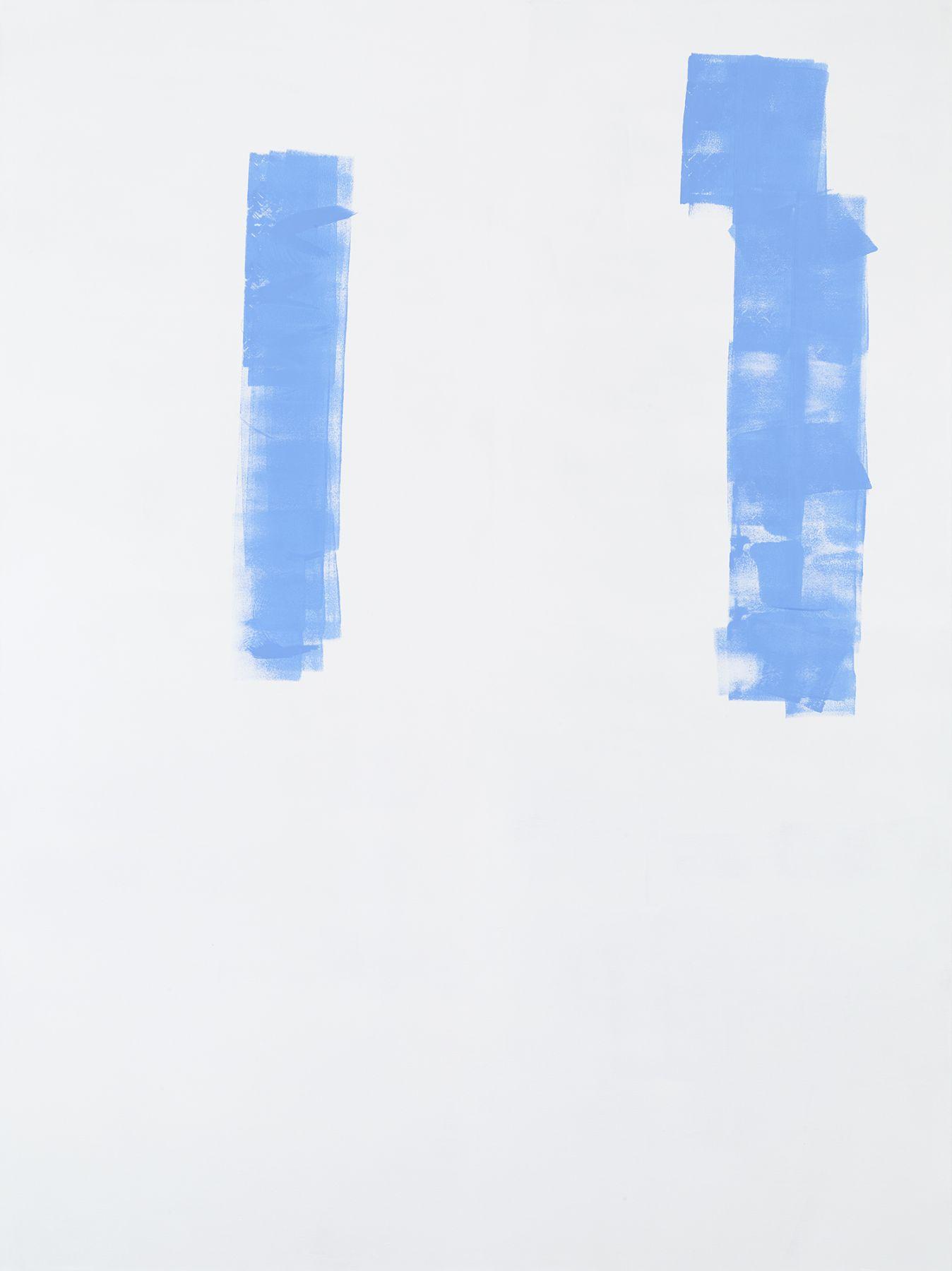 Michael Krebber MK.304, 2015 Acrylic on canvas  78 3/4 x 59 1/8 inches (200 x 150.2 cm)