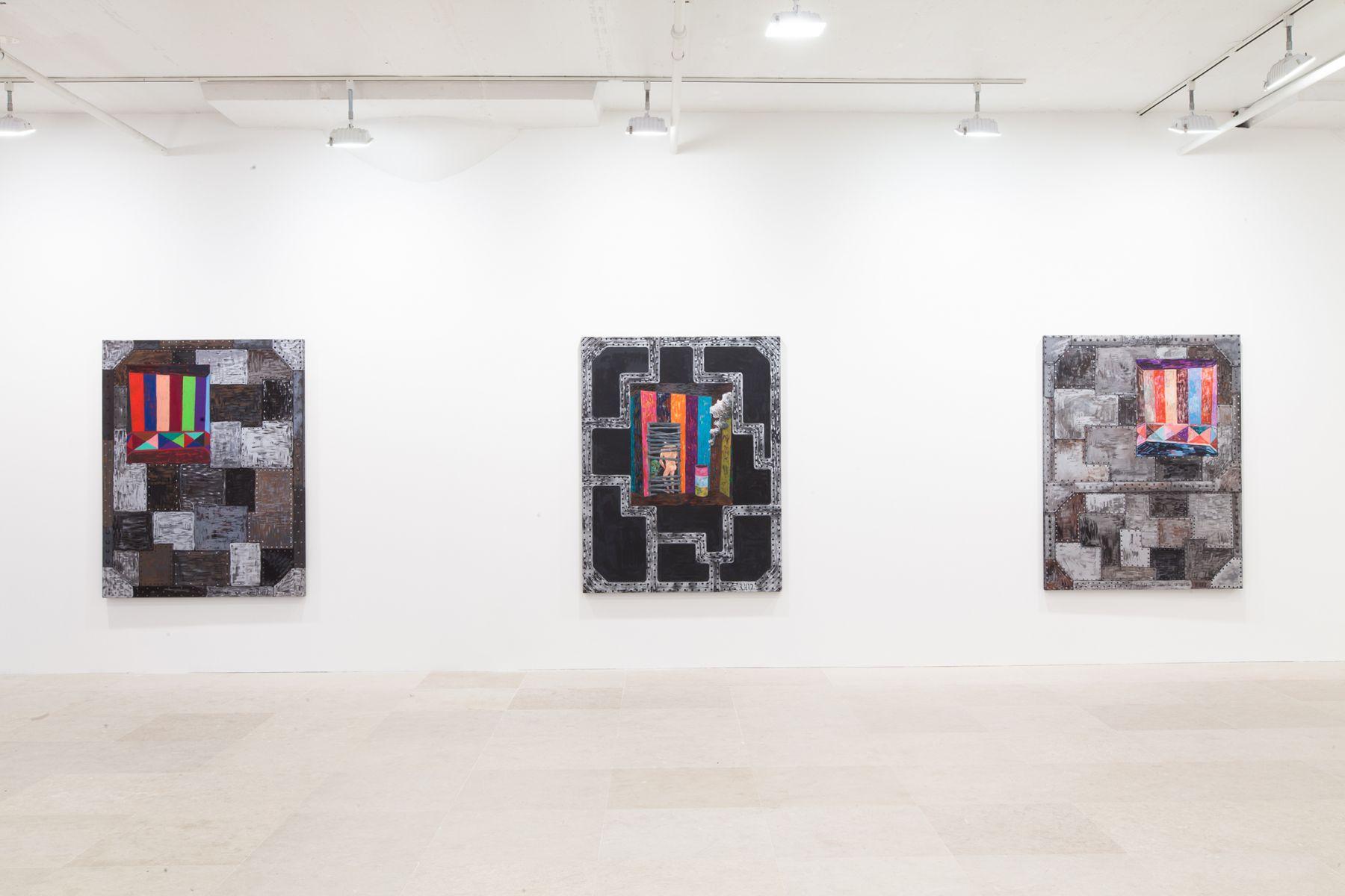 Installation view, Greene Naftali, New York, 2012