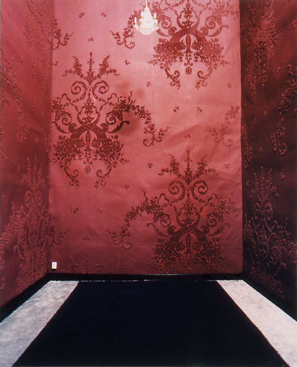 Julie Becker The Same Room (Chandelier), 1993/96 C-print 36 x 30 inches (91.4 x 76.2 cm)