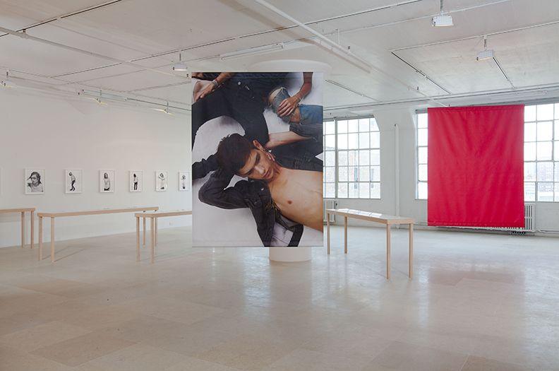 Bernadette Corporation, Installation view, The Complete Poem, Greene Naftali, New York, 2009