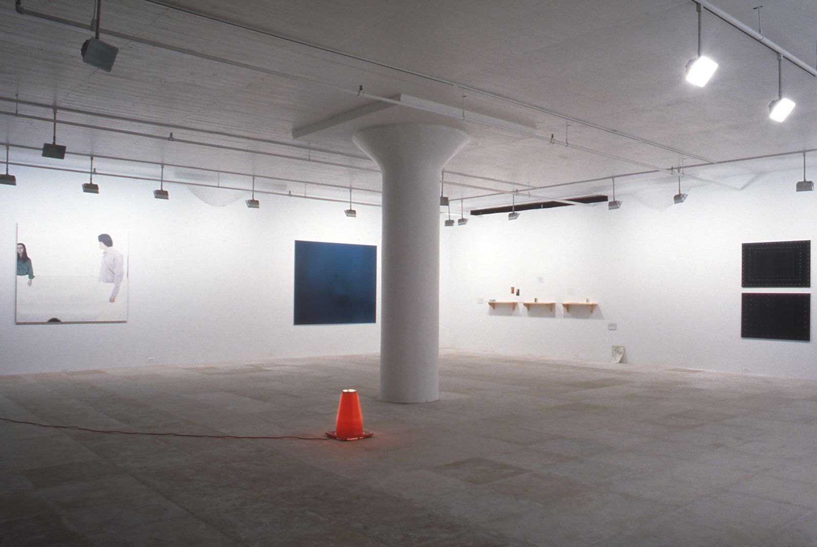 Installation view, Tell Everyone, Greene Naftali, New York, 1995