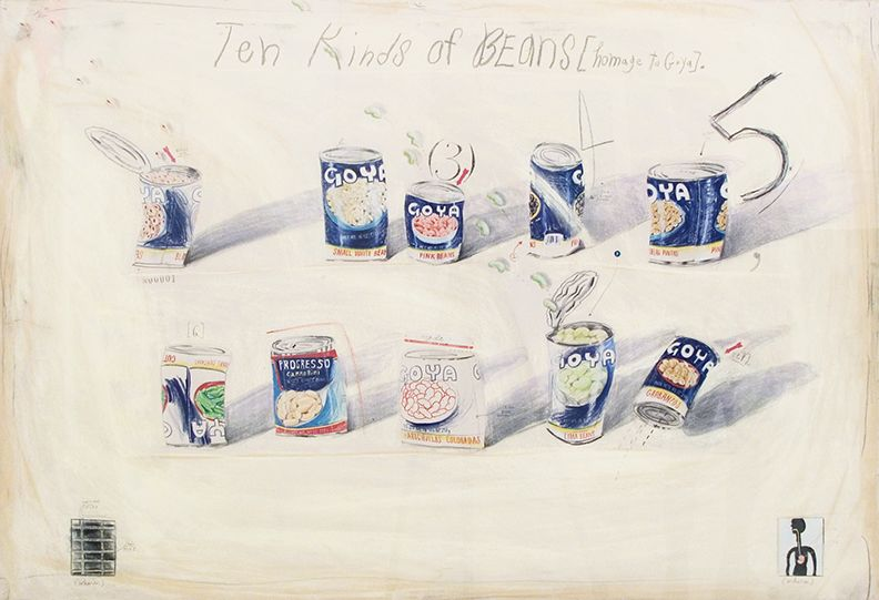 Candy Jernigan Ten Kinds of Beans, 1986