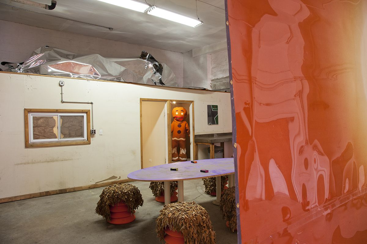 Installation view,The Accidental Tourist, Greene Naftali Garage, New York, 2016
