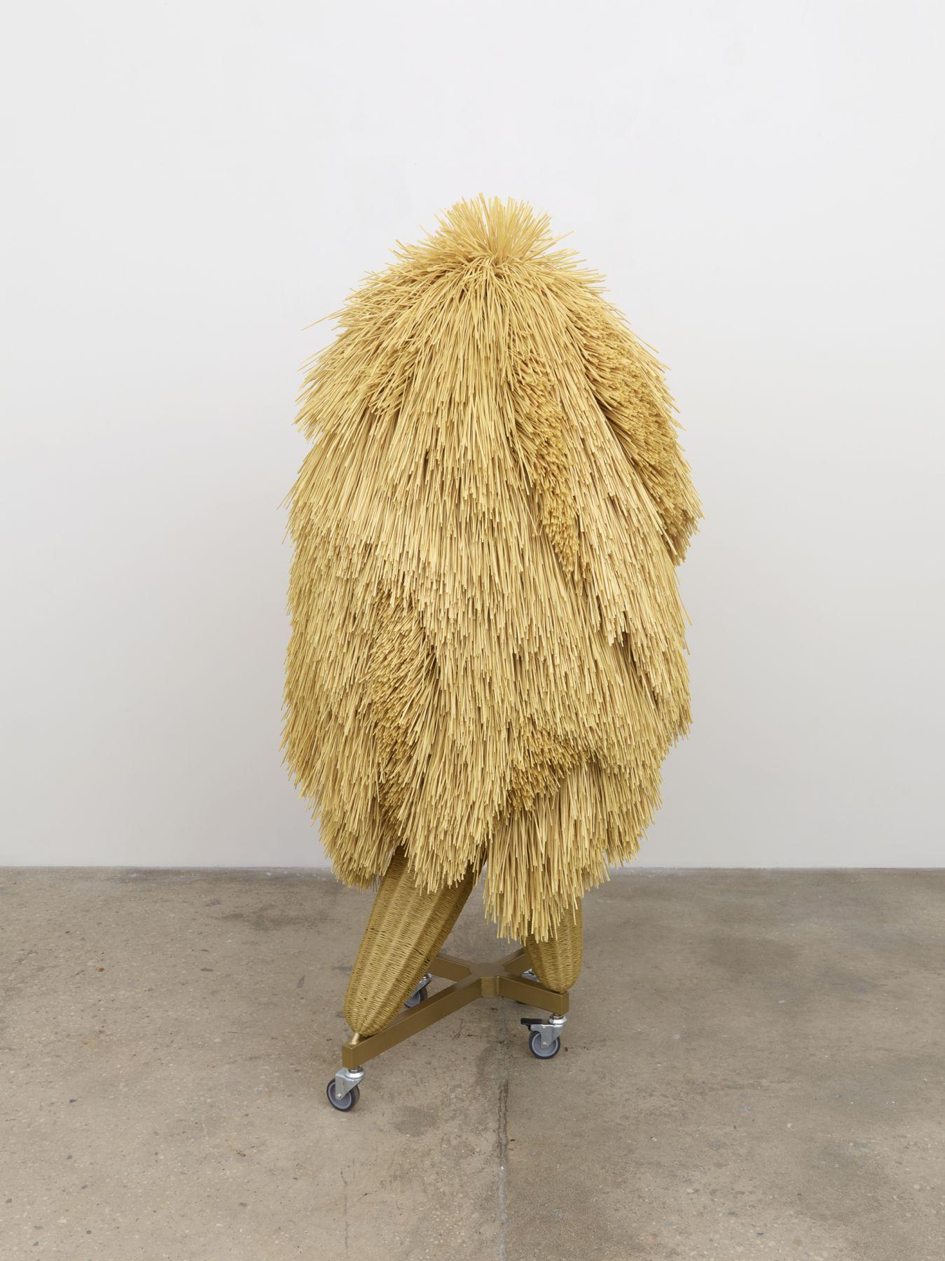 Haegue Yang, The Intermediate – Asymmetric Quadrupedal Bushy-head, 2016
