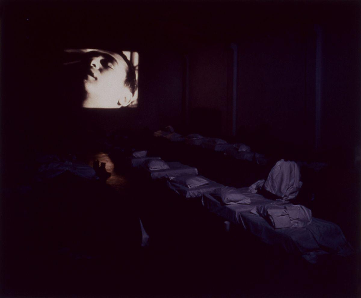 Liesbeth Bik & Jos van der Pol, Sleep with Me (I), 1997, c-print, mounted on foam core, 20 x 24 inches, edition of 3