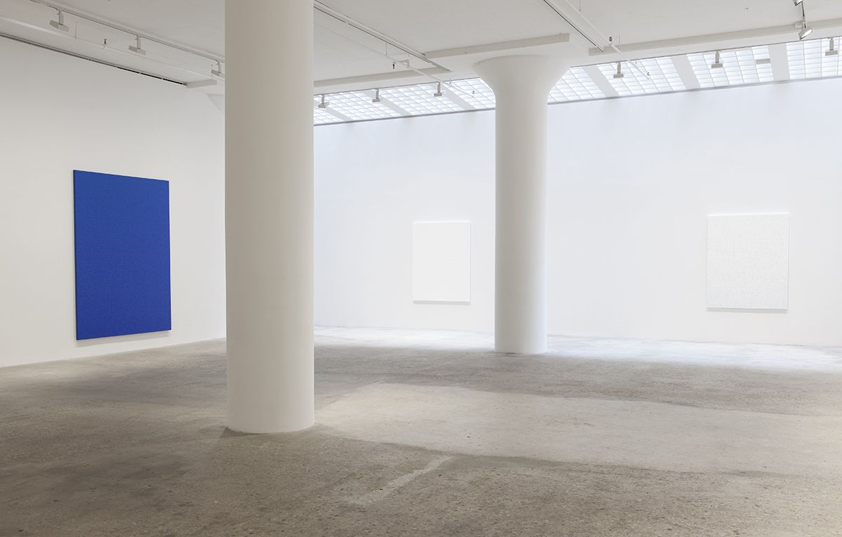 Chung Sang-Hwa, Installation view, Greene Naftali, New York, 2016