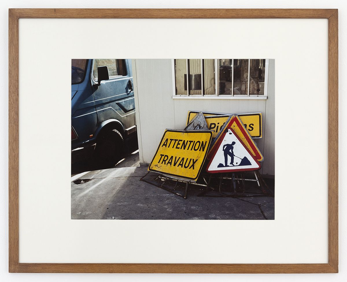 Marc Blondeau  Paris, 1991  Color photograph  31 1/2 x 39 3/8 inches (80 x 100 cm)  Edition 2/3