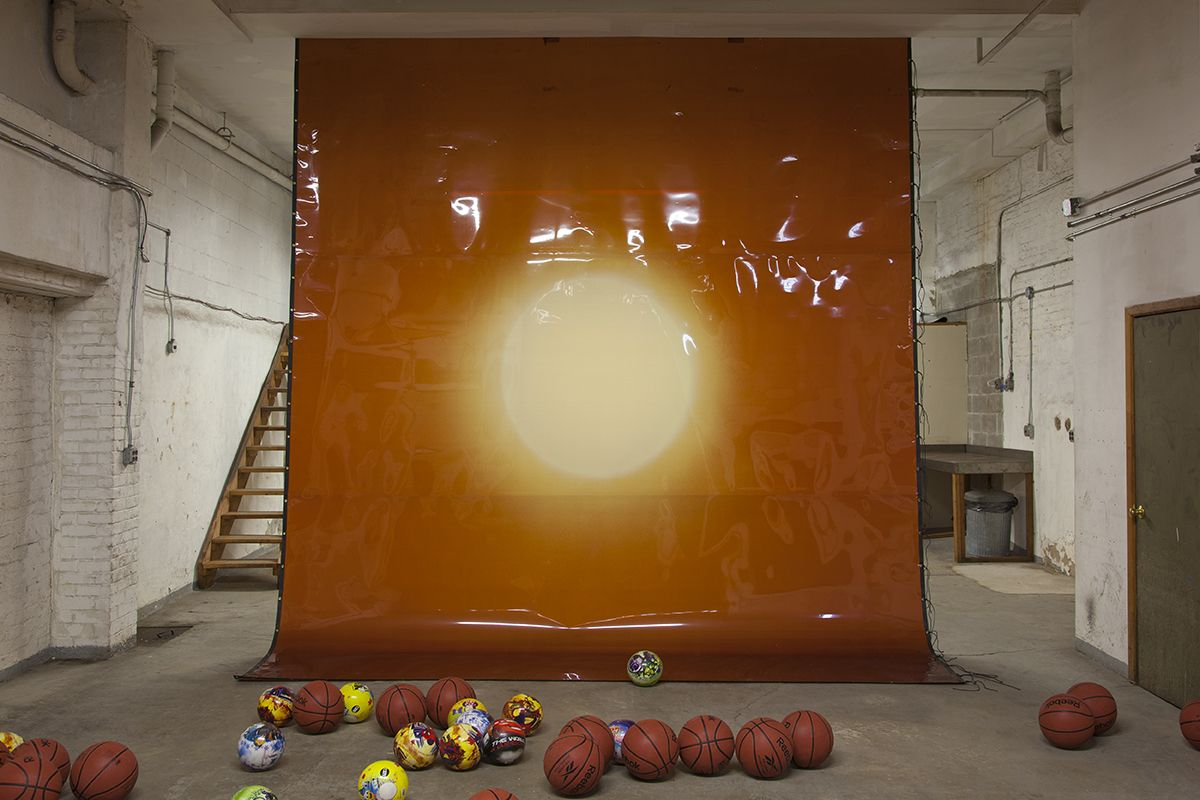 Lutz Bacher, EMPIRE OF THE SUN, 2013