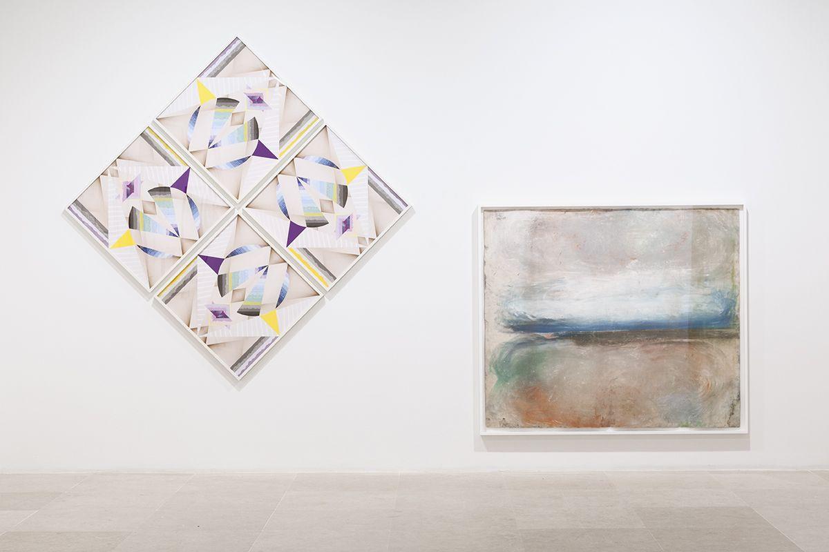 Works on Paper, Greene Naftali, New York, 2015