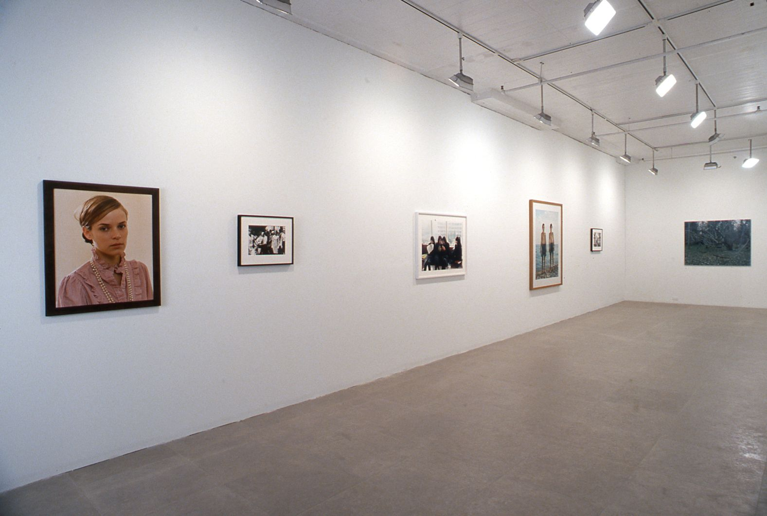 Installation view, Pictures Greene Naftali, New York, 2002