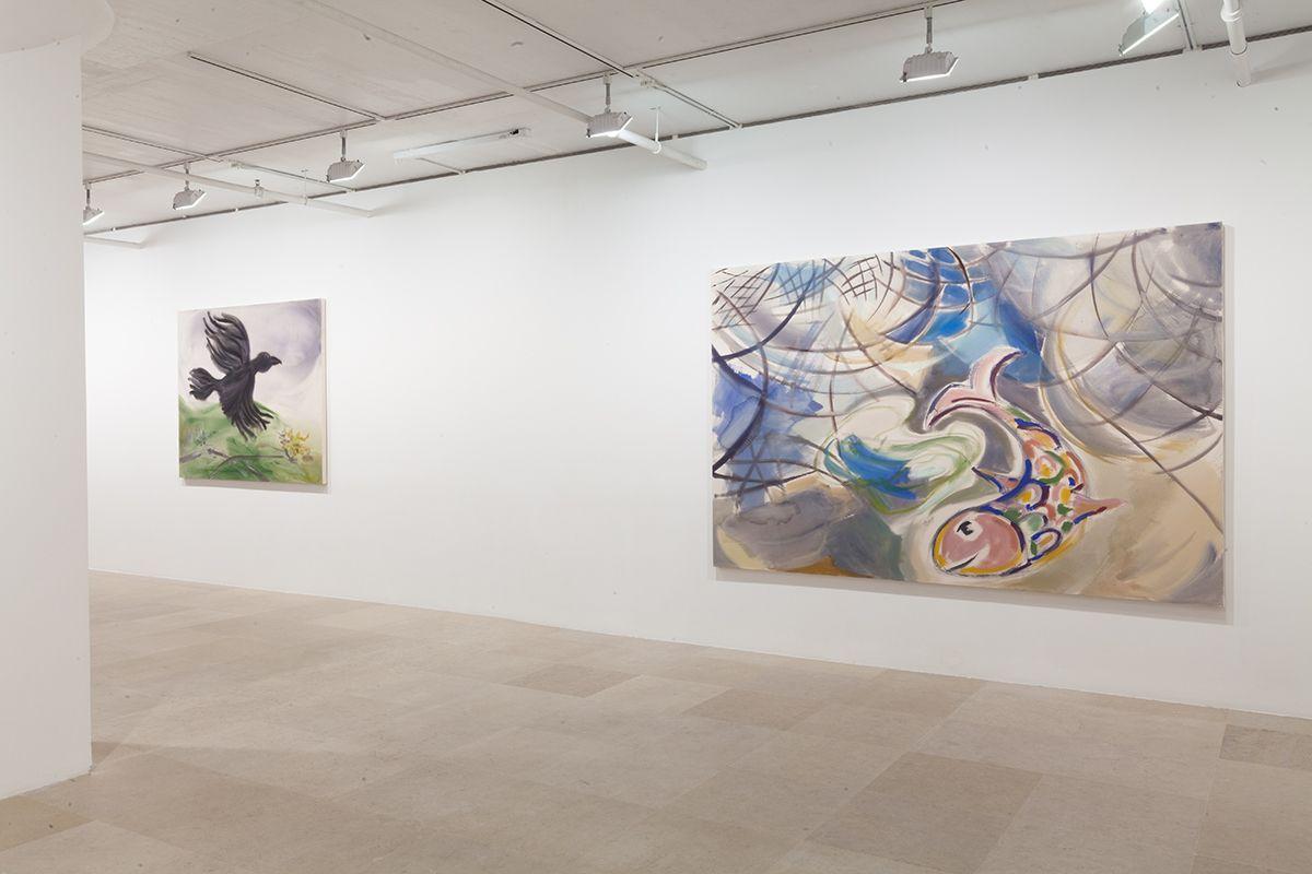 Installation view, Novel Ways, Greene Naftali, New York, 2013