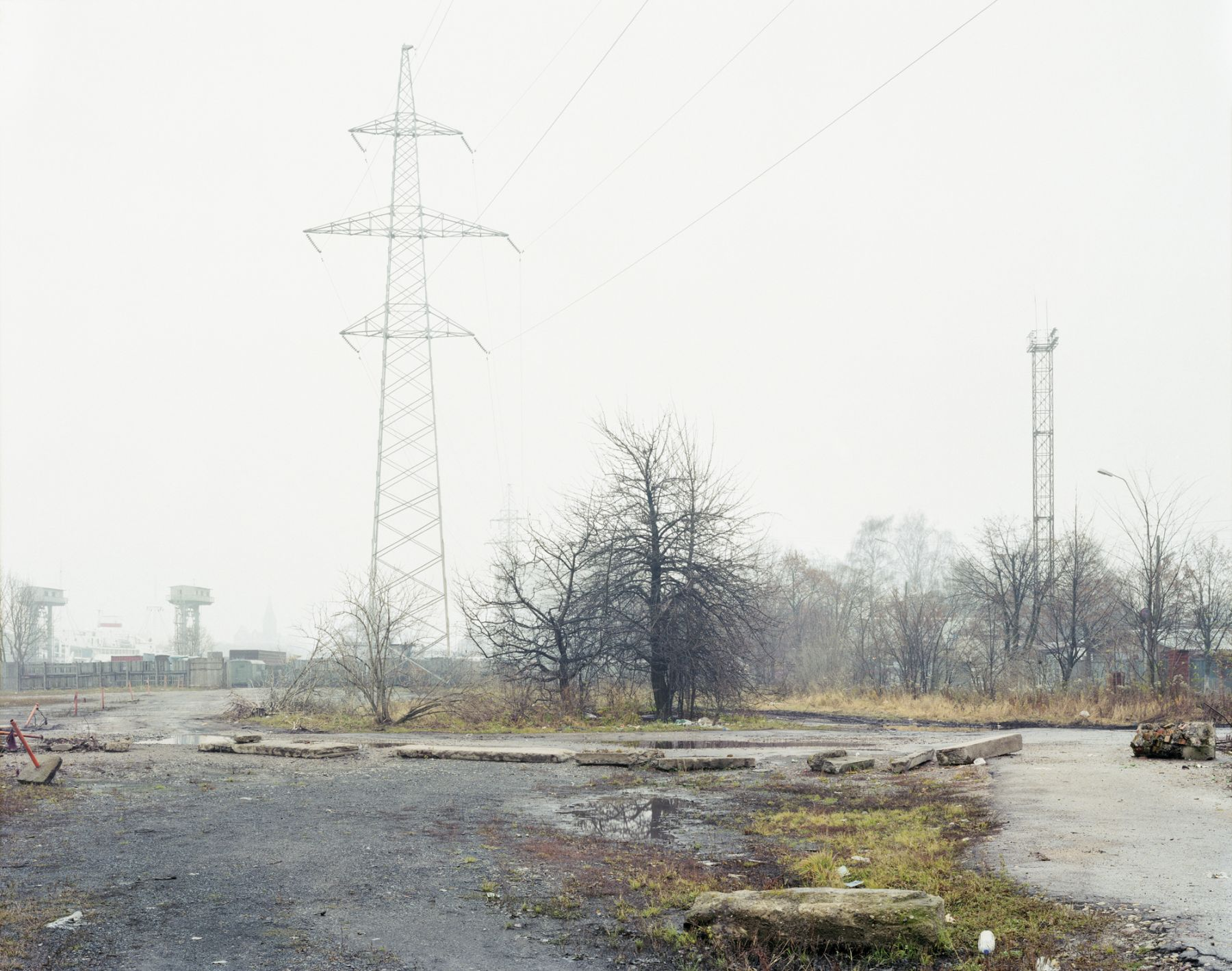 """#7 (from the series """"The Kant Walks""""), 2003 c-print 18 1/2 x 23 1/2 inches,  Ed. 5"""