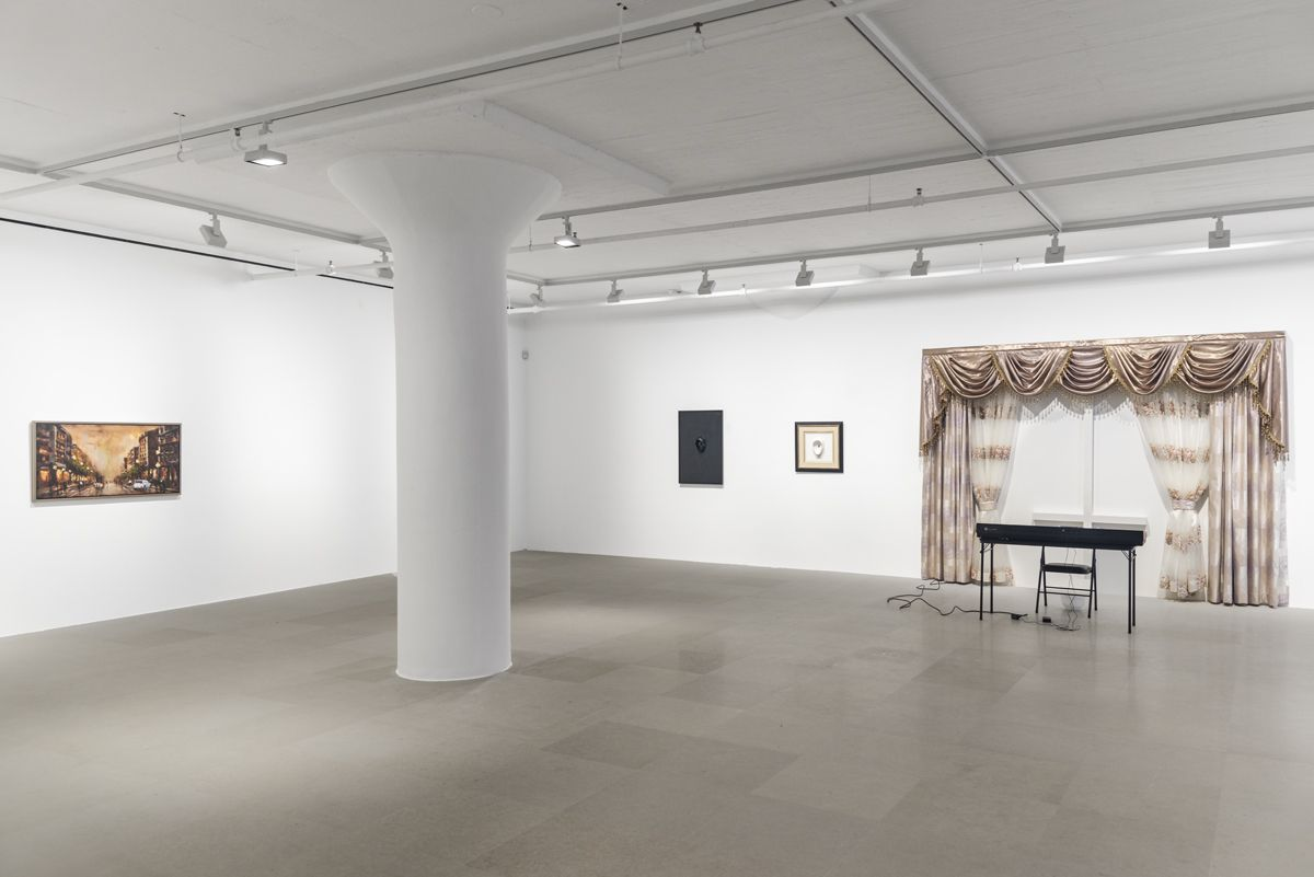 Nicolas Ceccaldi, Installation view, The Stroke of Midnight​, Greene Naftali, New York