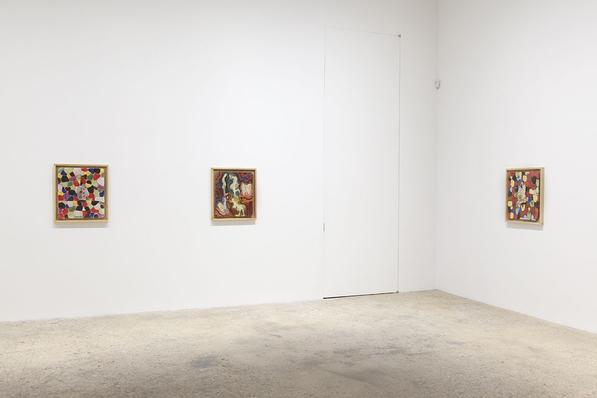 Richard Hawkins, Installation view, Norogachi: Ceramics After Artaud, Greene Naftali, New York, 2016