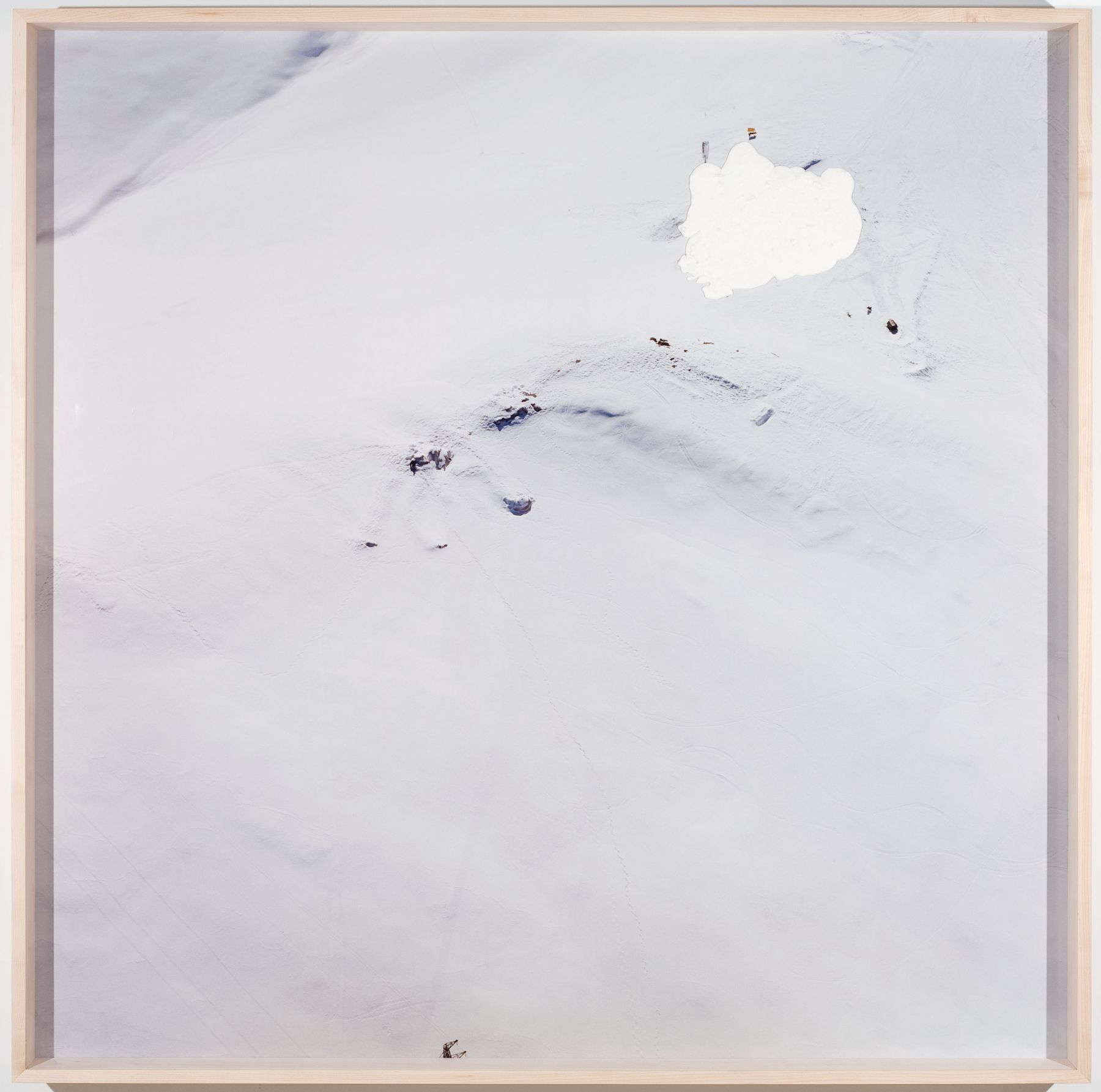 gelitin Hase, 2009 c-print with plasticine, framed 68 x 68 x 5 1/4 inches (framed dimensions) 172.7 x 172.7 x 13.3 cm
