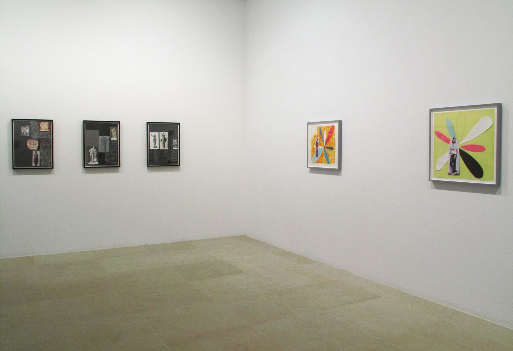 Richard Hawkins, Installation view, Greene Naftali, New York, 2009