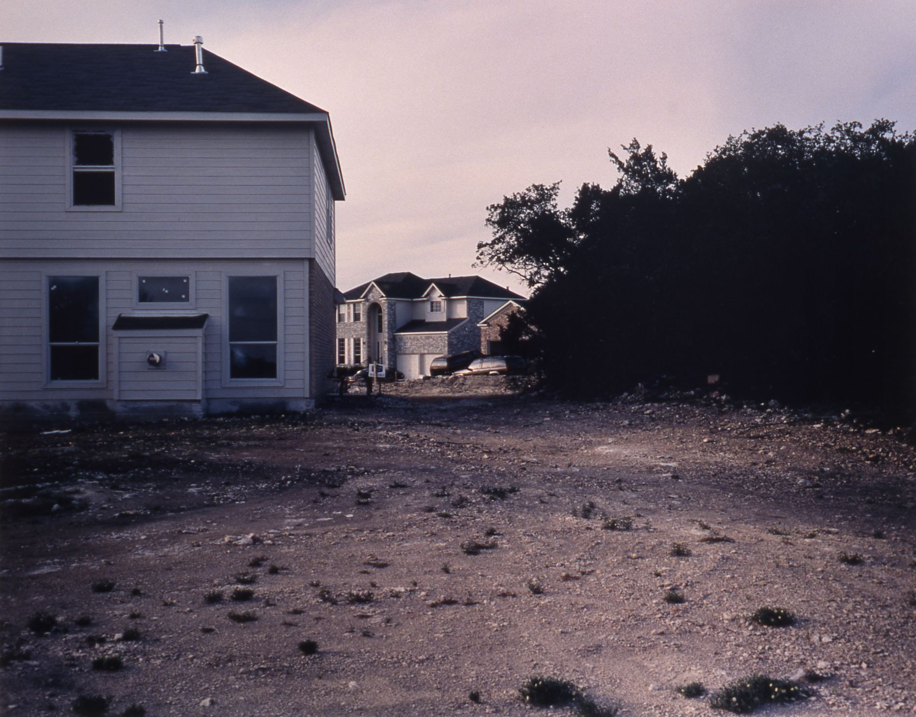 Norwood and Other Locations, 2000 (detail), c-print on MDF, 27 x 34 1/2 inches, edition of 5