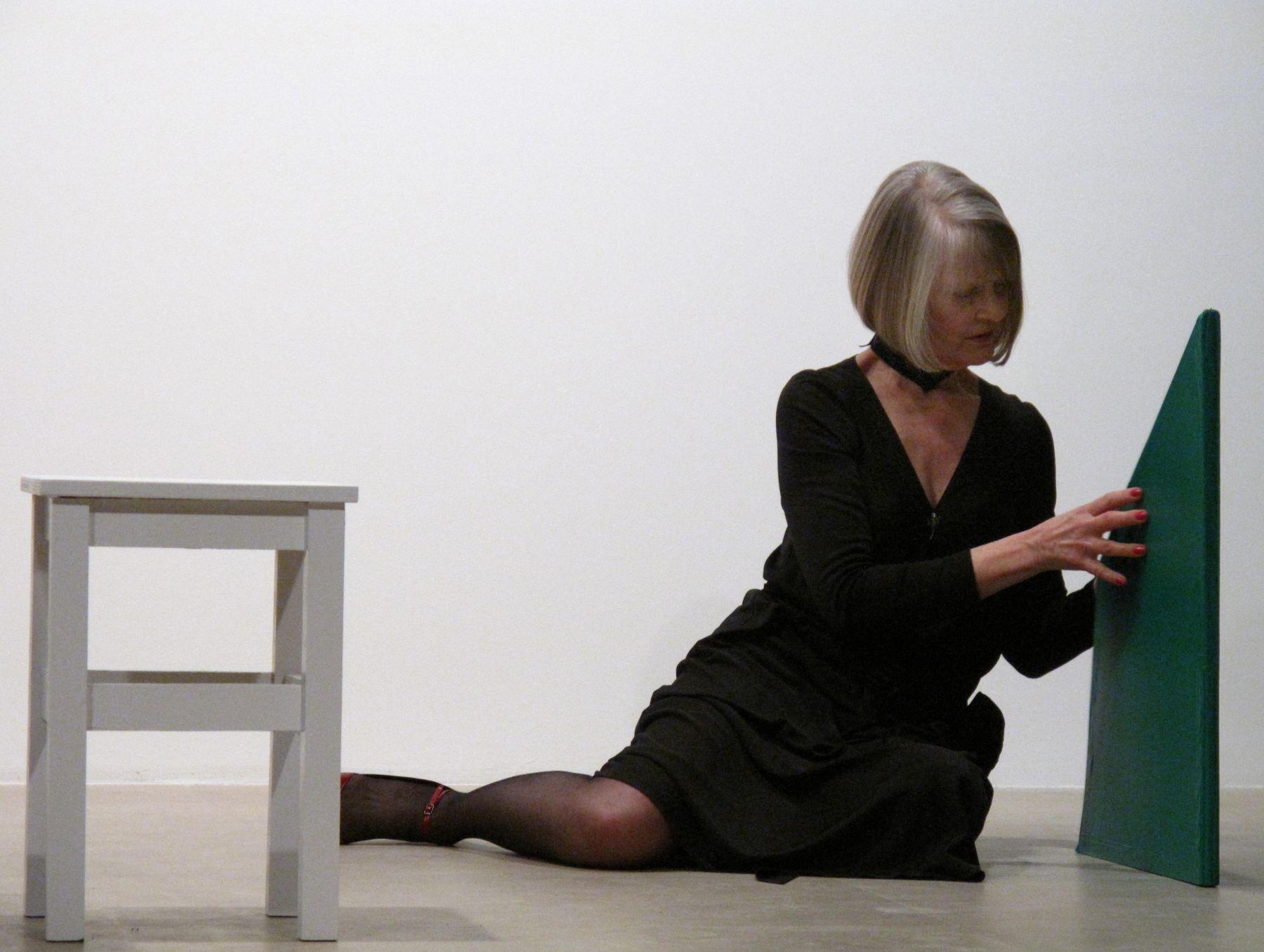Performance view, Greene Naftali, New York, February 4th, 2009
