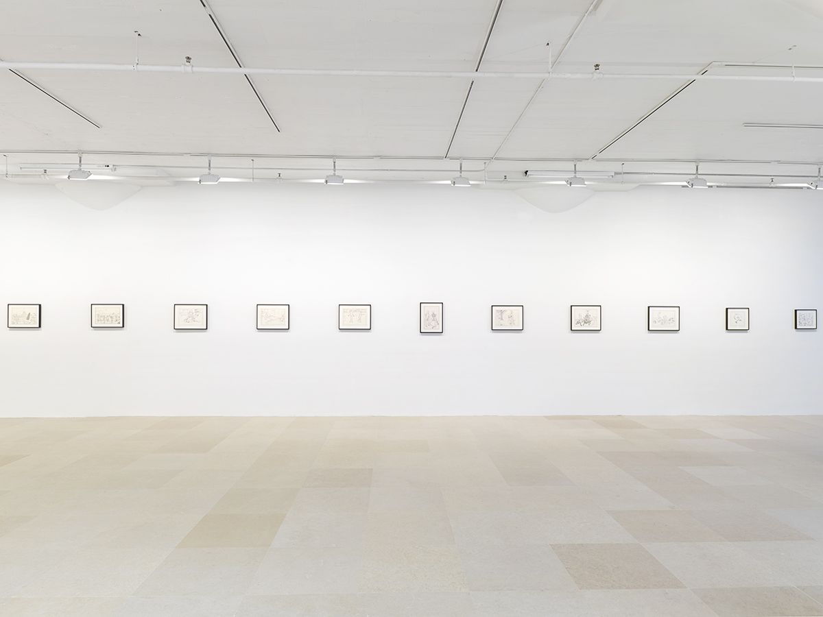Mayo Thompson, Installation View, 8th Floor, Greene Naftali, New York, 2015