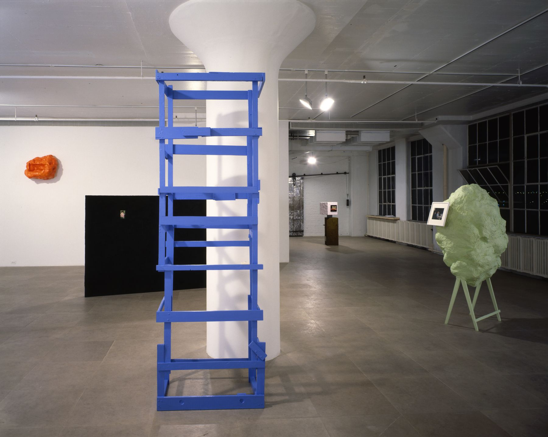 Installation view, Patent Pending, Greene Naftali, New York, 1999