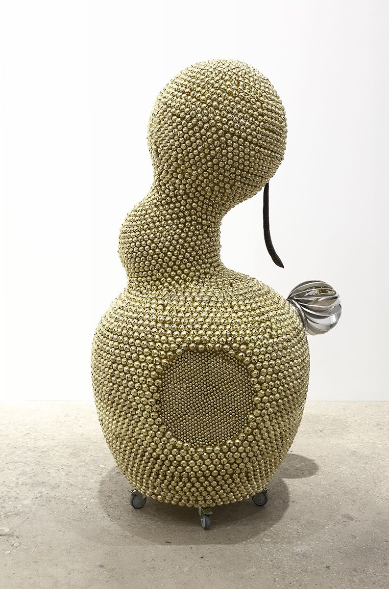 Haegue Yang, Sonic Figure – Venting Gourd, 2016