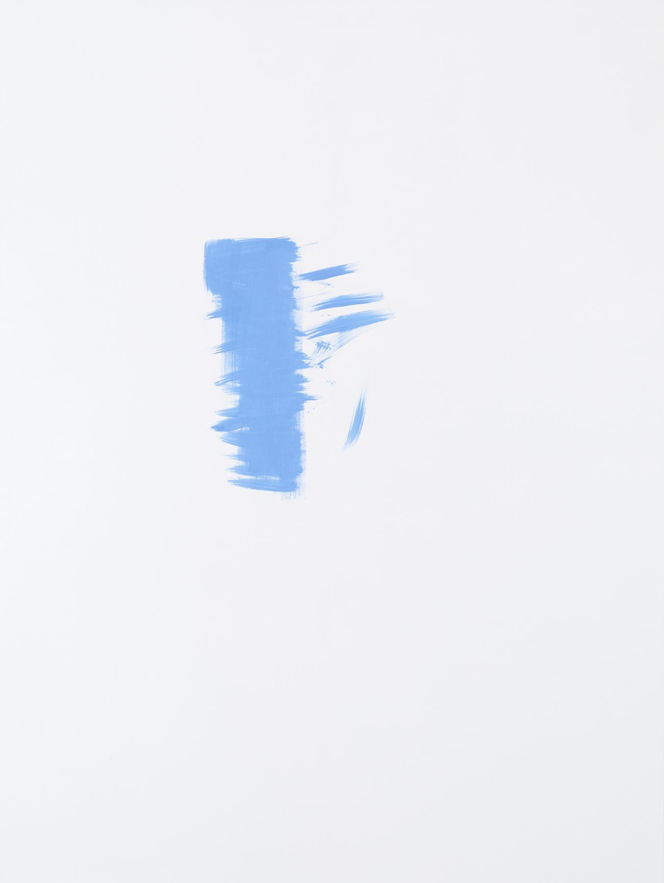 Michael Krebber MK.295, 2015 Acrylic on canvas 78 3/4 x 59 1/8 inches (200 x 150.2 cm)