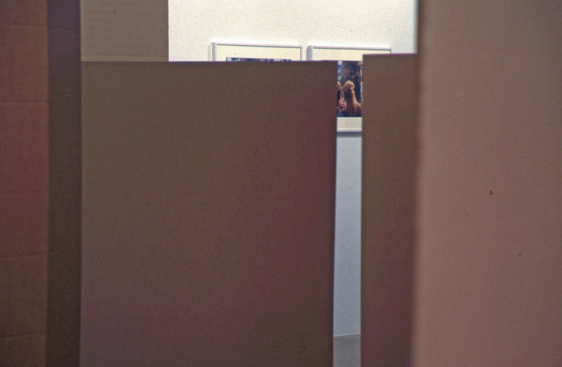 Installation view, Perth Amboy, Greene Naftali, New York, 2001