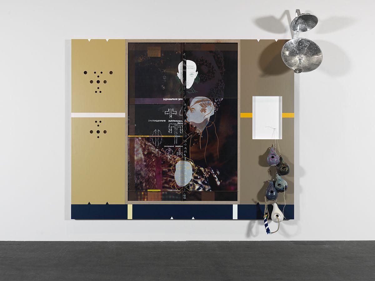 Helen Marten, Under Blossom EFG, 2015 (detail)