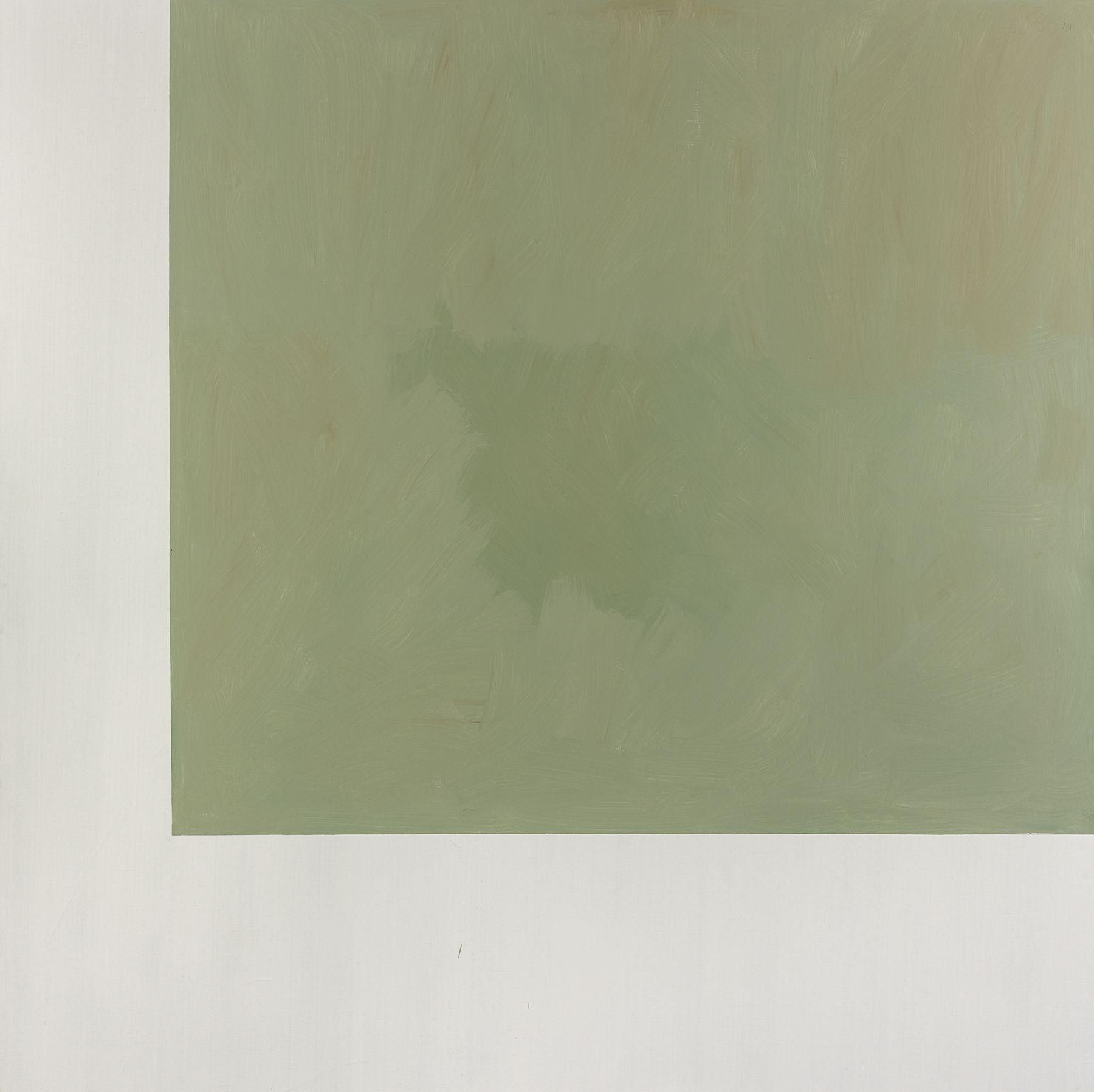 Günther Förg Untitled, 1991 Acrylic on canvas Ten pieces: 114 1/8 x 114 1/8 inches (290 x 290 cm) each (
