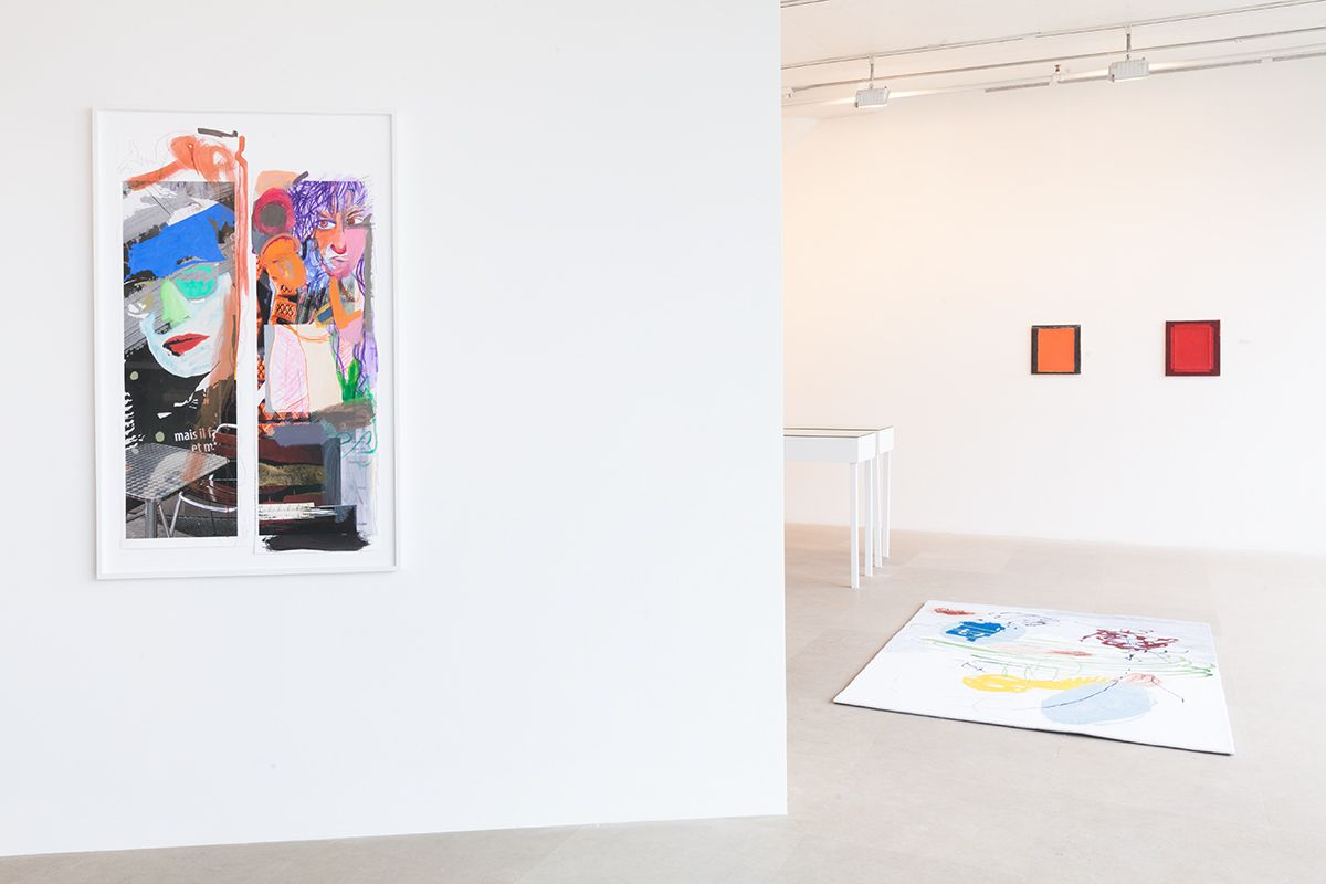 Installation view, FREAK OUT, Greene Naftali, New York, 2013