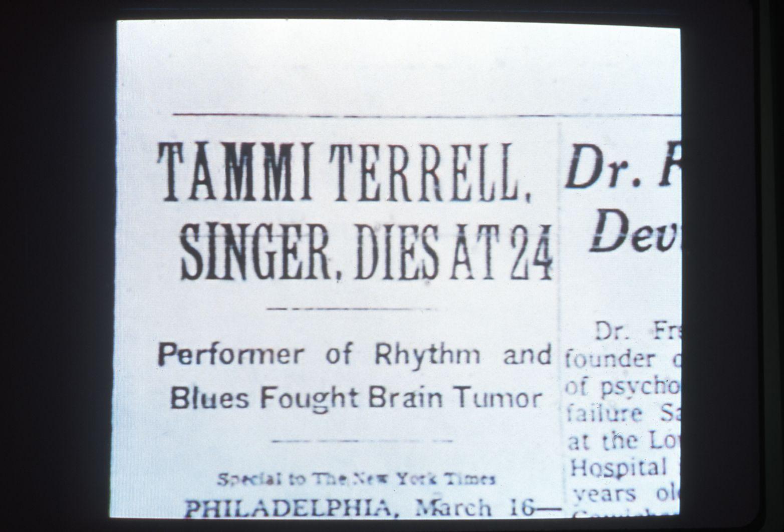 The Soul of Tammi Terrell, 2001 (still)