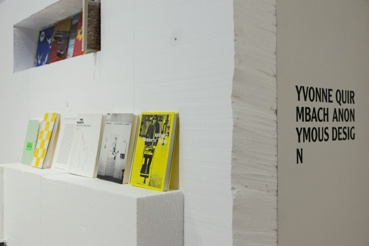 Yvonne Quirmbach, Installation view, Anonymous Design, 2018