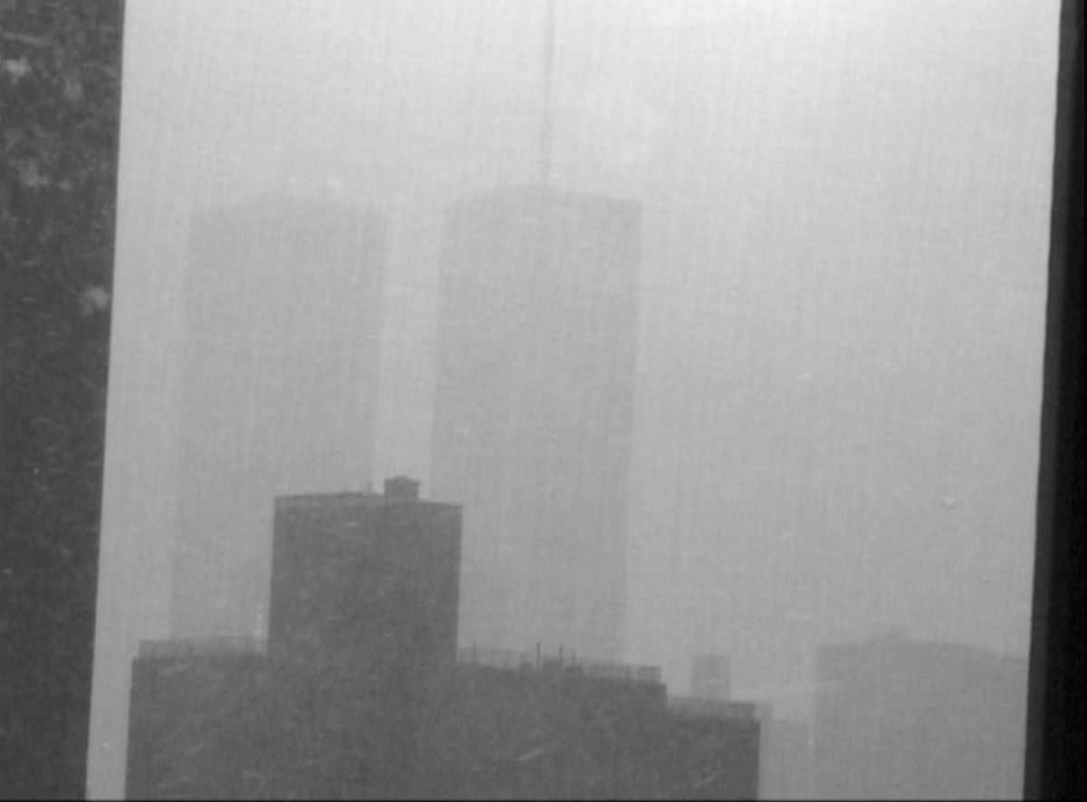 Lutz Bacher, Snow, 1999, Digital video authored to DVD, color/silent, Carpet, 6 minutes 28 seconds