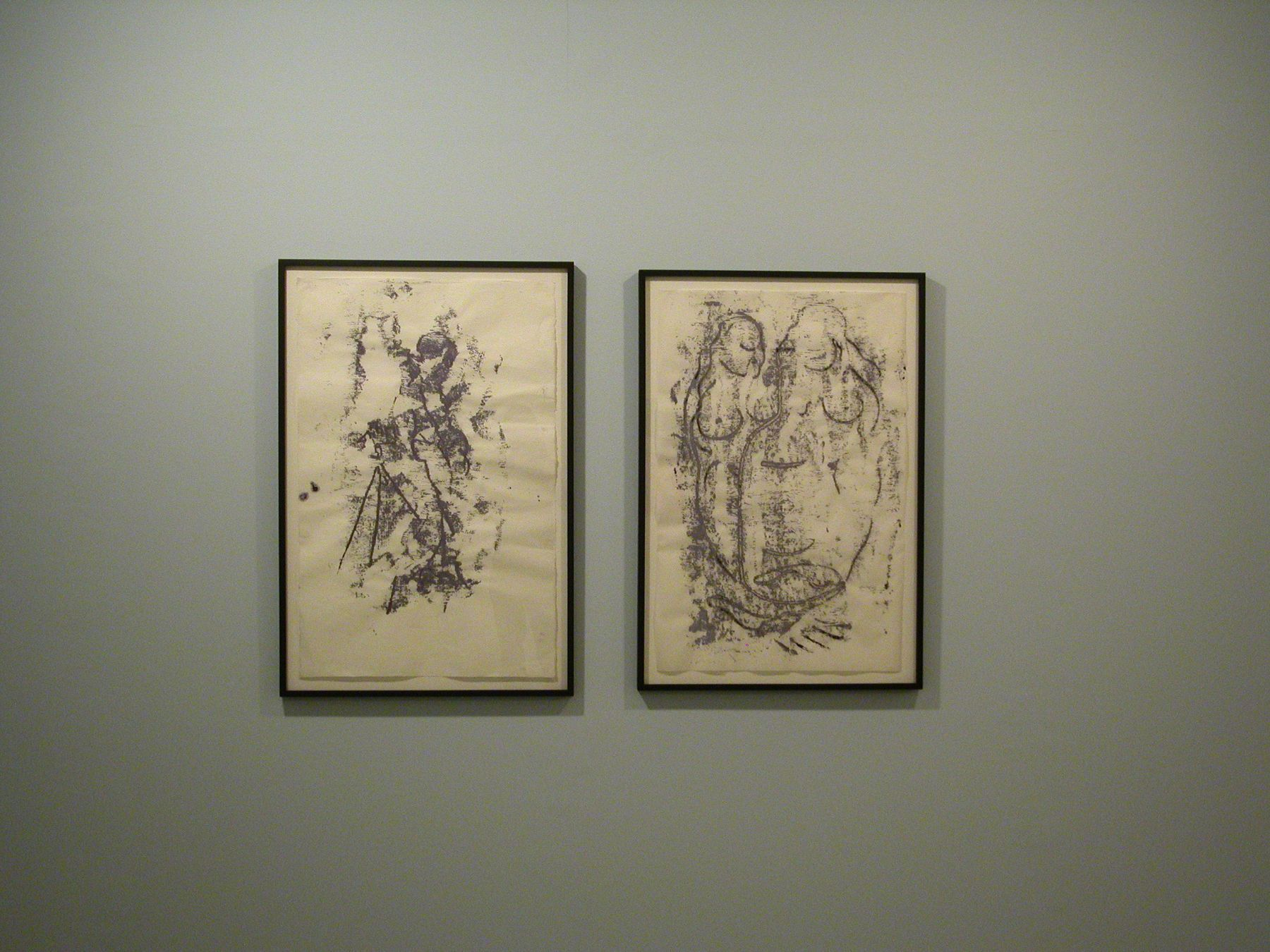 Untitled, and Untitled, Sophie von Hellerman and Josh Smith, Salon, Greene Naftali, New York, 2006