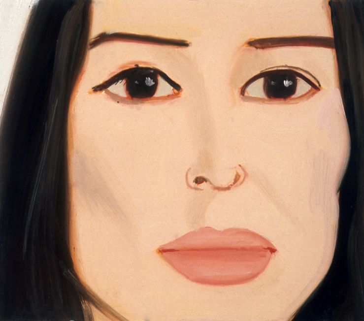 Maria, 1995, oil on board, 101/2 x 12 inches