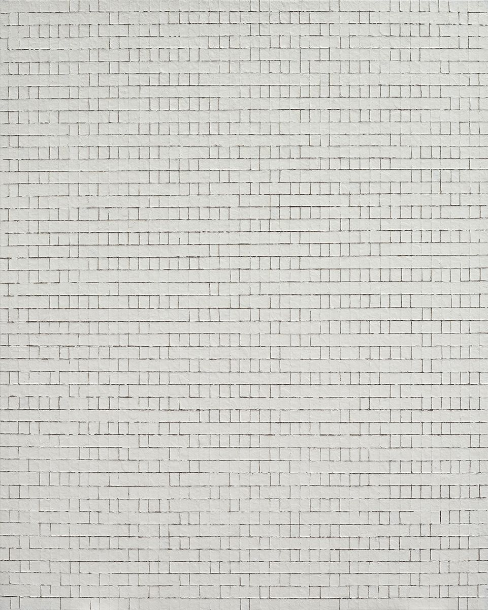 Chung Sang-Hwa Untitled 2013-7-15, 2013 Acrylic on canvas 63 7/8 x 51 3/8 inches (162.2 x 130.3 cm)