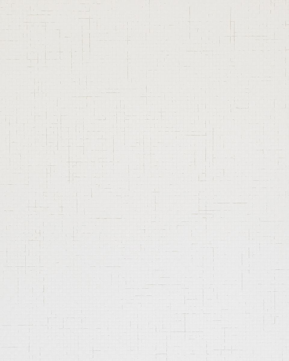 Chung Sang-Hwa Untitled 2015-3-8, 2015 Acrylic and kaolin on canvas 63 7/8 x 51 3/8 inches (162.2 x 130.3 cm)